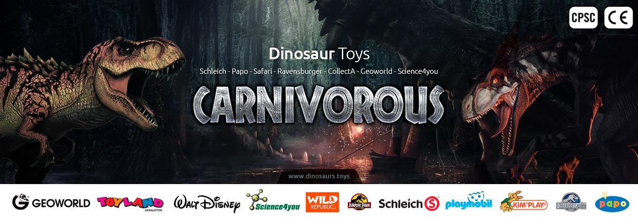 carnivorous dinosaurs toys