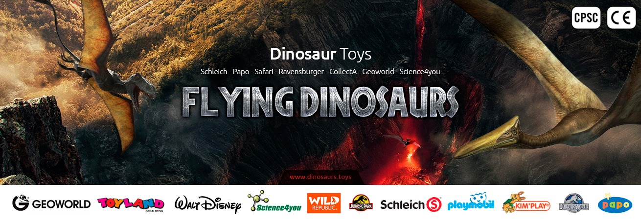 flying dinosaurs toys