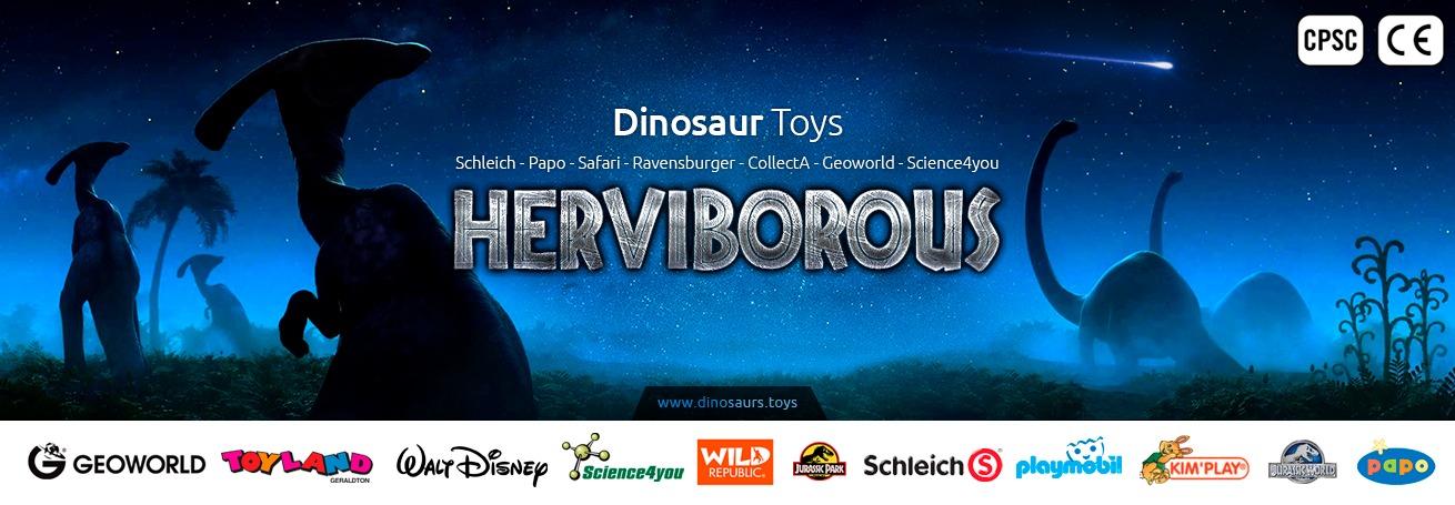 hebivorous dnosaurs toys