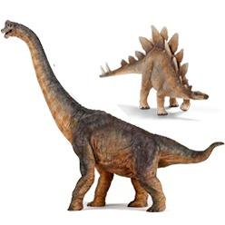 Herbivorous dinosaur toys