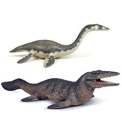 Swimming dinosaurs